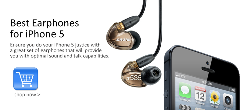 Best iPhone 5 Earphones and Headphones of 2013