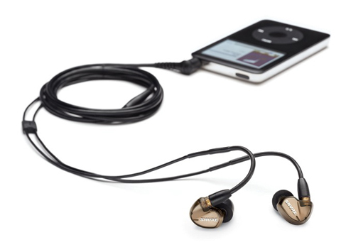 Shure SE535 with the iPod Classic