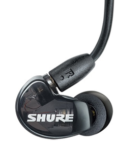 shure se215 earpiece closeup