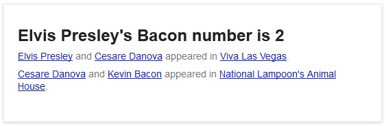 elvis bacon