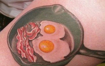 worst food tattoos