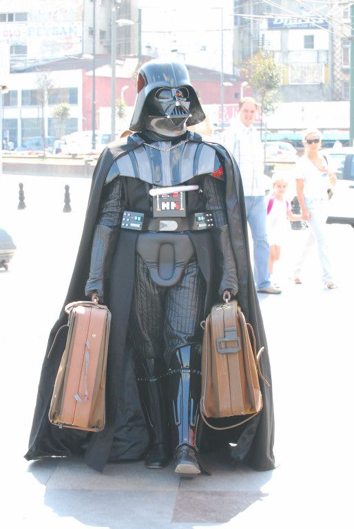 Darth Vader Funny Photo