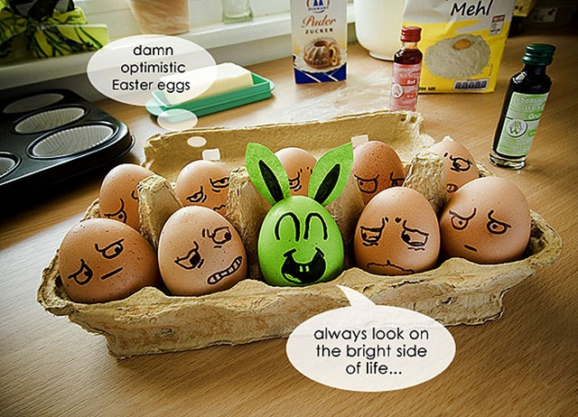 easter eggs funny photos