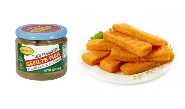 Gefilte fish sticks