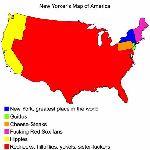 Funny world maps
