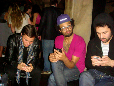 party texting