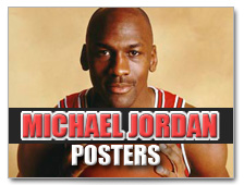 Michael Jordan Posters