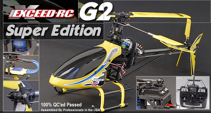 G2 Super Edition RC Helicopter