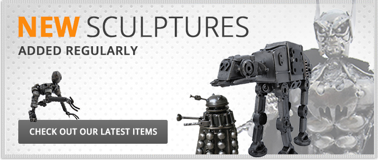 New Sculptures Added Regularly
