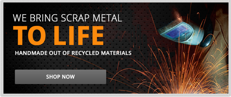 We Bring Scrap Metal To Life