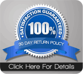 Satisfaction Guaranteed - 30 DAY SATISFACTION GUARANTEE
