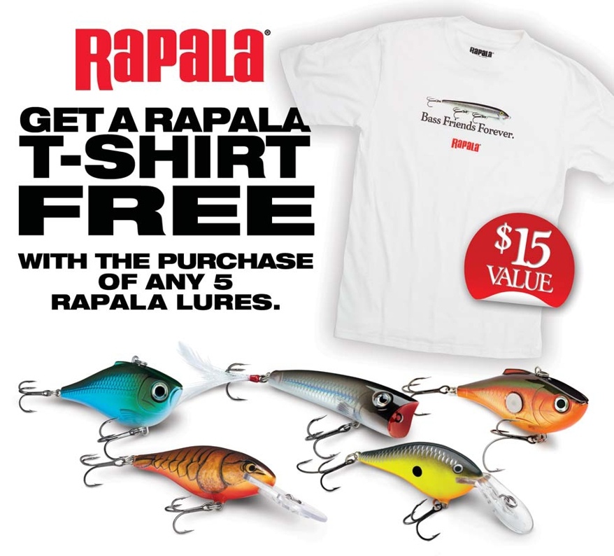 Rapala has been the favorite fishing lure since Rapala offers a large collection of fishing lures, knives, tools, rods & reels, accessories, apparel and more. Save on your fishing gear with Rapala promotion codes during checkout.