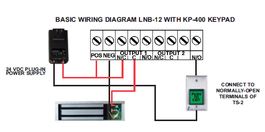 magnetic lock in a box rh nokey com magnetic door lock wiring diagram magnetic door lock wiring diagram
