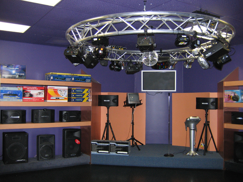 You can see our DJ lights and club systems.