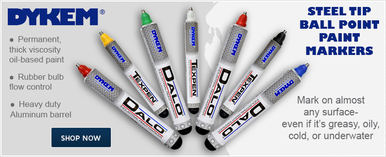 Dykem Ball Point Markers
