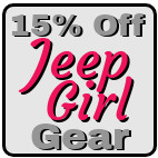 15% Off Jeep Girl Gear