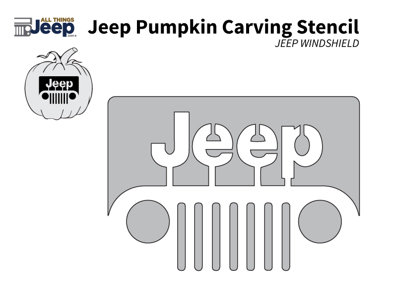 All things jeep jeep pumpkin carving templates windshield logo yadclub
