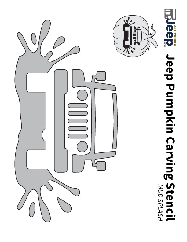 All things jeep pumpkin carving templates