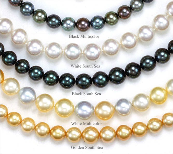 Beautiful Black Tahitian South Sea Pearl Necklace Ebay