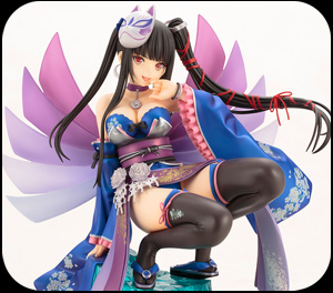 Click to enlargeSengoku Taisen Princess Iroha Ani Statue Figure