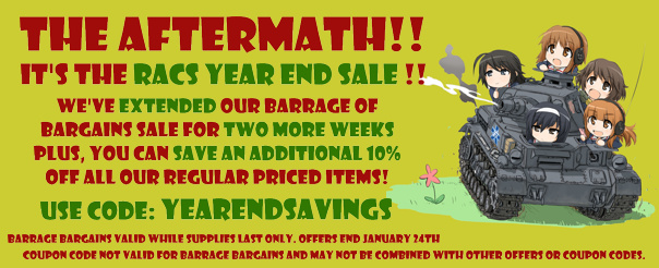 We've Got Twelve Salvo's of Savings This Holiday Season!
