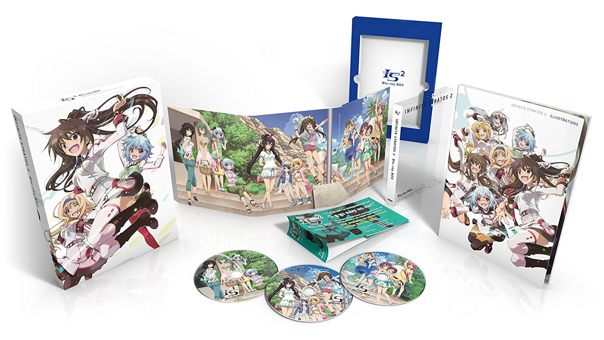Click to enlargeInfinite Stratos 2 Collection Premium Edition BLURAY Box Set