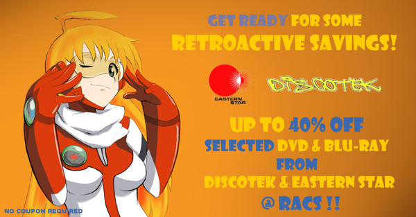 Save Up To 40% Off MSRP On Selected Discotek and Eastern Star Anime Titles!!