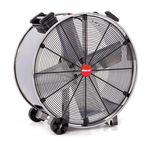 Heavy Duty Fan >> Shop Air Stainless Steel Wide Body Heavy Duty Drum Fans