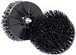 Black Stiff Scrub Brush