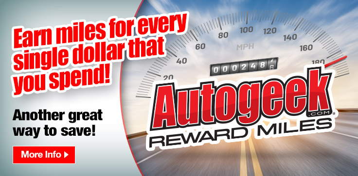 Autogeek Reward Miles!