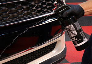 Spray Blackfire Bug Blocker onto the surface you want to protect,