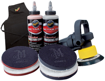 Meguiar's DA Microfiber Correction System for dual  action polishers