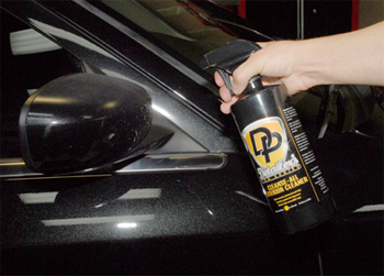 Detailer's Pro Series DP Cleanse-All Exterior Cleaner removes bugs from paint.