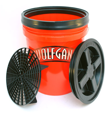5 Gallon Wash Bucket Combo Red