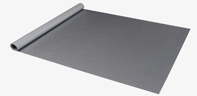 Diamond Deck Roll Out Garage Flooring has very easy roll-out application