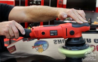 The G15 Boss Polisher is smooth and powerful