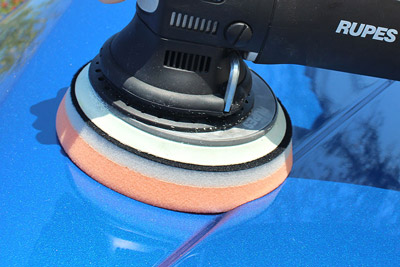 Lake Country HD Orbital Pads work great on Rupes Polishers