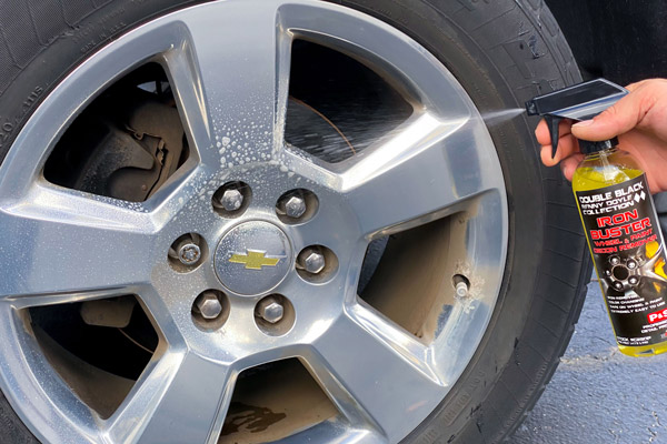 P&S Iron Buster will also quickly remove brake dust from your wheels!
