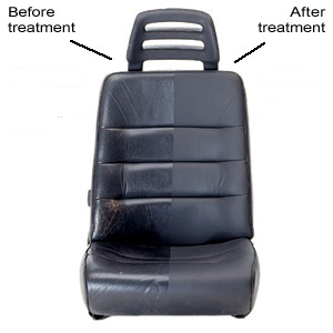 Leather Master leather care products restore the natural-looking, matte finish to auto leather.