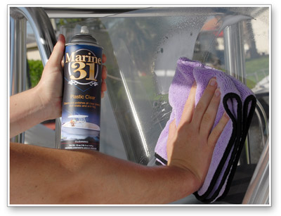 Marine 31 Plastic Clear is incredibly easy to use!