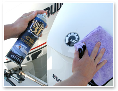 Marine 31 All-Surface Citrus Cleaner removes unpleasant odors as it cleans!