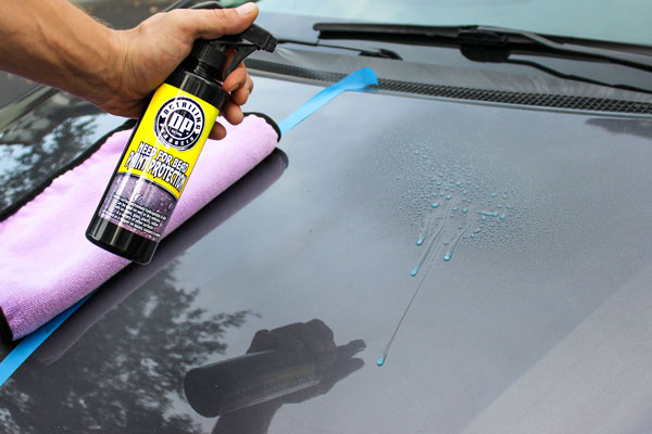 Applying DP Need for Bead couldn't be easier! Just spray it on the surface of your paint.