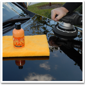 Dodo Juice Need For Speed can be applied by hand or polisher.
