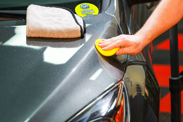 DP 'Not Your Father's' SiO2 Paste Wax will glide easily while you apply it to your paint!