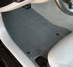 Lloyd Velourtex Floor Mats are available in ten colors.