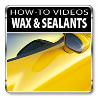 How to apply waxes and sealants
