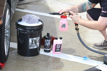 BLACKFIRE Foam Booster turns any car wash in to a FOAMING car wash!