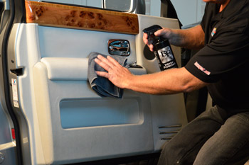 BLACKFIRE Interior Protectant can be used on all interior surfaces!