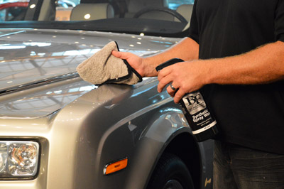 BLACKFIRE Synthetic Spray Wax is the fastest way to get durable protection!