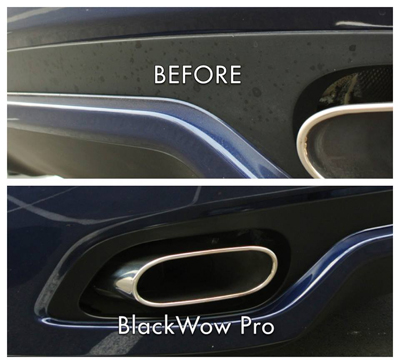 Black wow professional trim restorer black wow pro plastic trim restorer Black interior car trim restorer